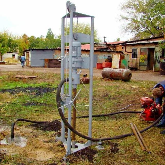 Бурение скважин на воду в Гатчинском районе